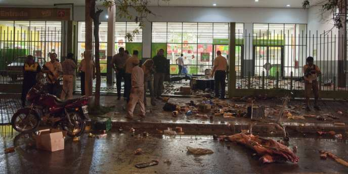Des scènes de pillage en Argentine, le 9 décembre.