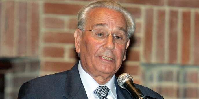 Le maire de Biarritz Didier Borotra en 2005.