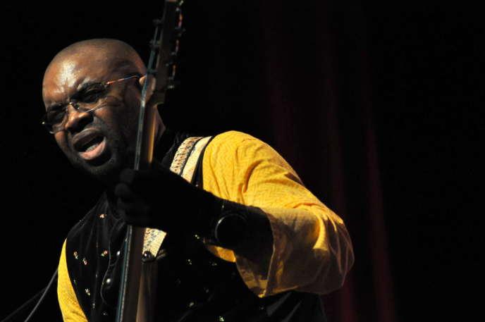 Etienne MBappé au Martinique Jazz Festival en décembre 2013.