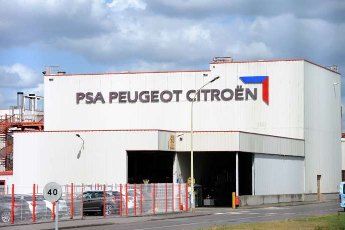 L'usine de PSA à La Janais, près de Rennes, en 2012.