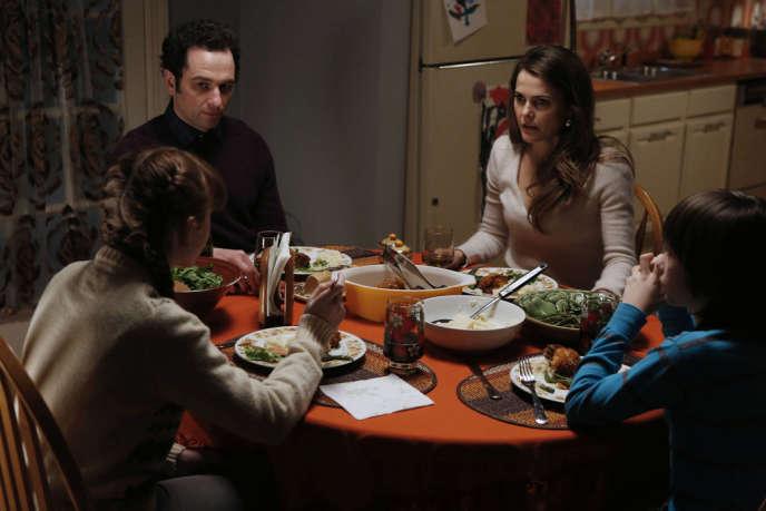 Matthew Rhys (Phillip Jennings), Keri Russell (Elizabeth Jennings) dans la série