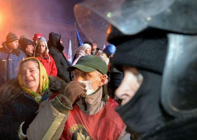 Mercredi 11 décembre 2013, à Kiev.