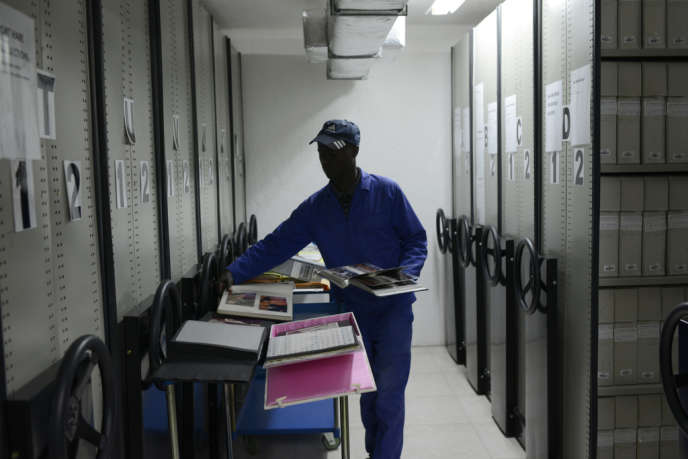 Les archives de l'université sud-africaine Fort Hare, le 10 décembre. Elles contiennent de nombreux documents sur l'ANC.