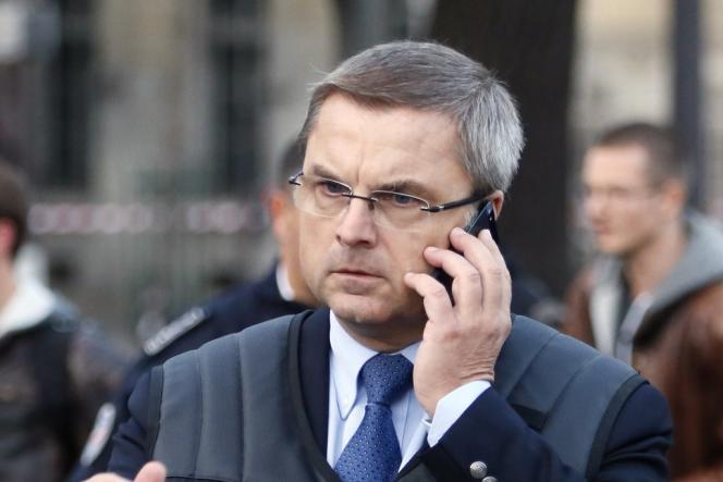 Le directeur de la police judiciaire, Christian Flaesch, en octobre.