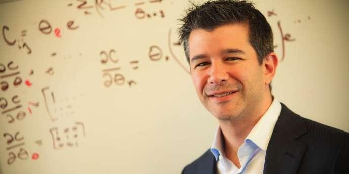 Travis Kalanick, le cofondateur d'Uber, la start-up californienne qui met en relation les clients et les chauffeurs privés
