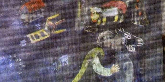 Savely Blumstein, qui avait pu échapper aux nazis en s'enfuyant aux Etats-Unis, avait fait une demande de dédommagement en 1957 pour ce tableau ainsi que pour d'autres ayant appartenu à sa famille.