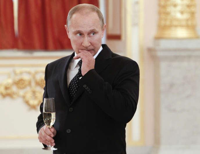 Vladimir Poutine, le 23 octobre 2013 à Moscou.
