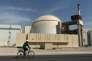 La centrale nucléaire de Bouchehr, en Iran, enoctobre2010.