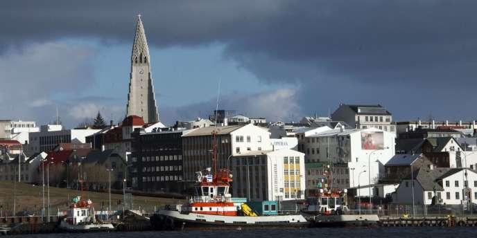 Vue de Reykjavik, en avril 2013.