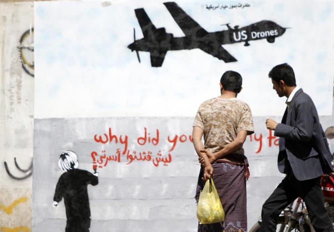Les Etats-Unis, qui aident les autorités yéménites dans leur lutte contre le réseau extrémiste, sont les seuls à disposer de drones au Yémen.