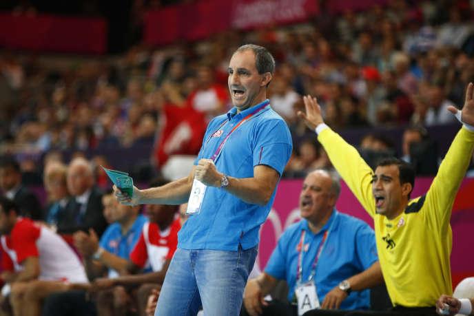 Alain Portes, entraîneur des Tunisiens aux JO de Londres, a pris la tête de l'équipe de France féminine en juin.