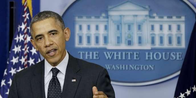 Barack Obama, le 21 novembre à la Maison Blanche.