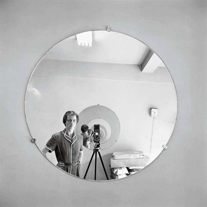 Autoportrait, 5 mai 1955. Photo: Vivian Maier / Maloof Collection / Courtesy Howard Greenberg Gallery, New York