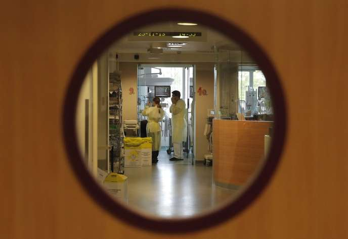 Dans l'unité de soins intensifs de l'hôpital universitaire des enfants Reine-Fabiola, à Bruxelles.