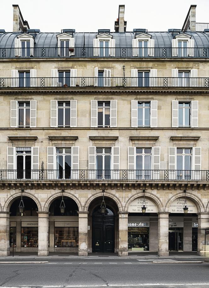 Au 156, QG des avocats parisiens.