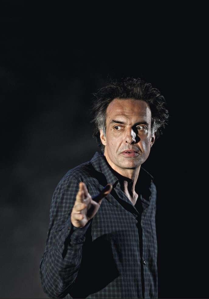 L'acteur Nicolas Bouchaud.