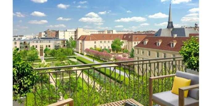 Laennec transformé, un projet immobilier mené par Altarea-Cogedim.