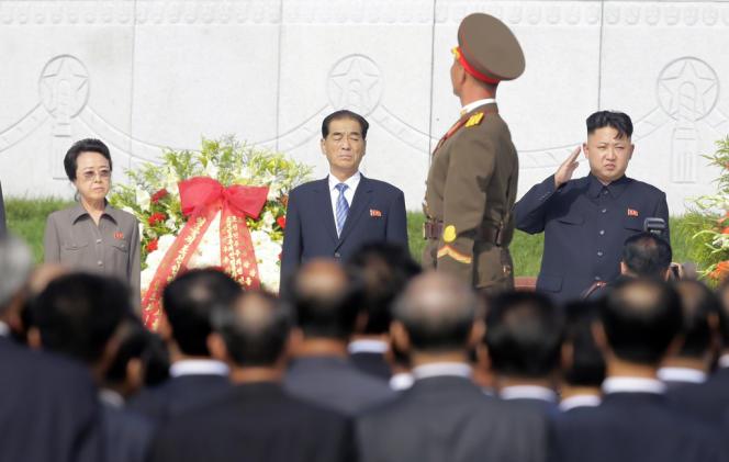 Âgée de 67 ans, Kim Kyong-hui, à gauche, est la fille de Kim Il-sung, fondateur de la République populaire démocratique de Corée (RPDC), et la tante de  Kim Jong-un, le leader de la Corée du Nord.