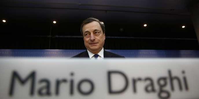 Mario Draghi, le président de la Banque centrale européenne.