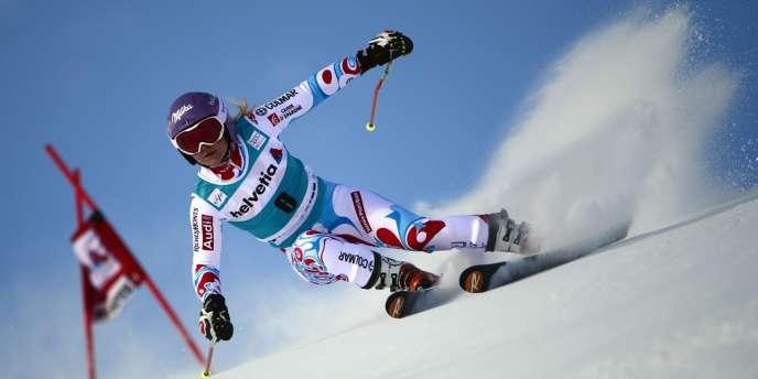 A 24 ans, Tessa Worley, qui avait déjà remporté l'épreuve en 2010, a signé sa huitième victoire en Coupe du monde de ski alpin.