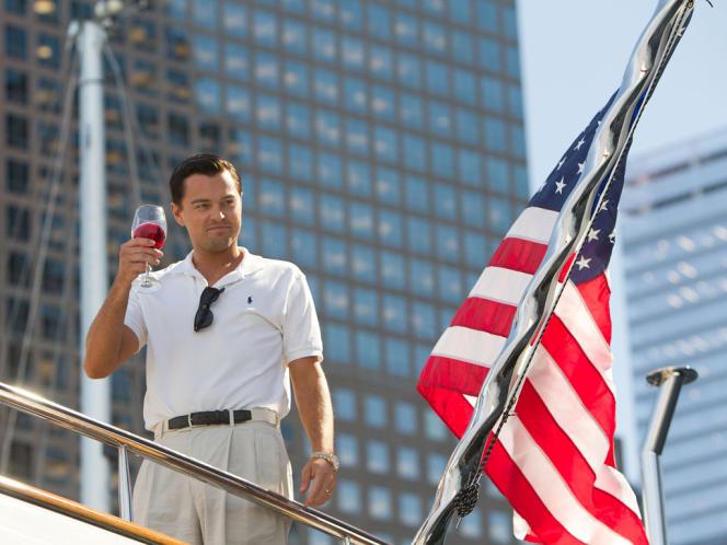 Leonardo DiCaprio dans le film américain de Martin Scorsese,