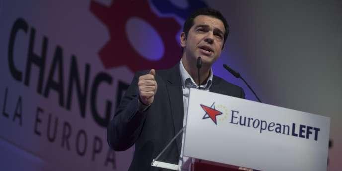 Alexis Tsipras sera le candidat du PGE pour la tête de la comission européenne.