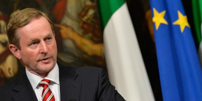 Le premier ministre irlandais, Enda Kenny (centre droit), demande depuis des mois à ses partenaires européens que le Mécanisme européen de stabilité reprenne une partie de la dette publique à sa charge.