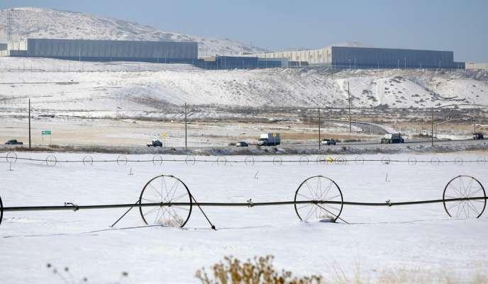 Un centre de stockage de données de la NSA de Bluffdale, près de  Salt Lake City, le 16 décembre.