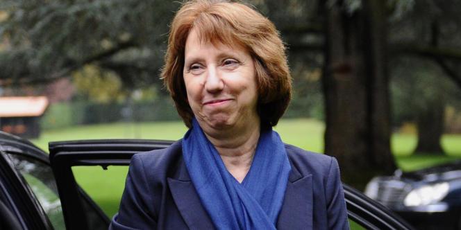 Catherine Ashton, le 20 novembre à Genève.