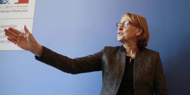 Marylise Lebranchu, actuelle ministre de la réforme de l'Etat et de la décentralisation.