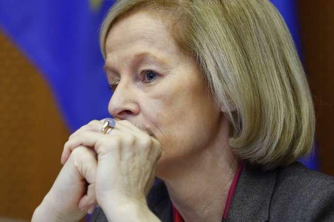 Danièle Nouy prendra la tête du Mécanisme de supervision unique des banques de la zone euro le 1er janvier 2014.