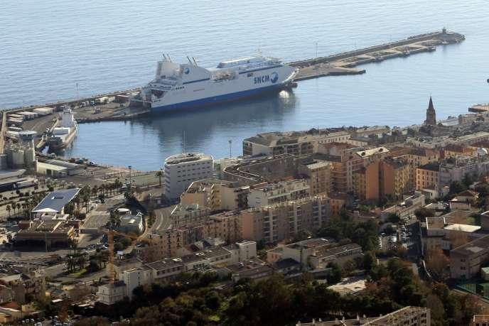 Dans le port de Bastia, en décembre 2013.
