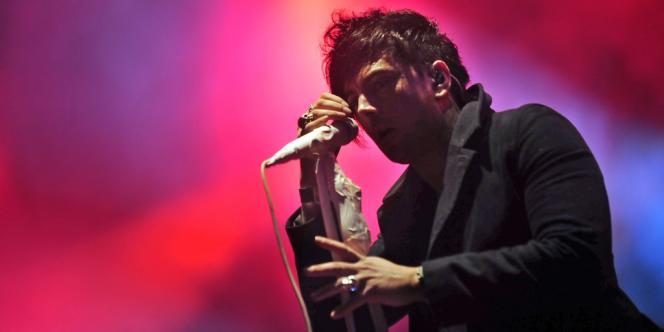Le chanteur de Lostprophets au Sziget, en 2011.