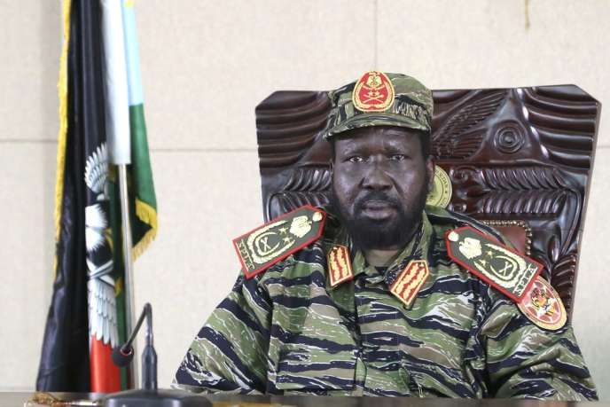 Le président du Soudan du Sud, Salva Kiir, le 16 décembre à Juba.