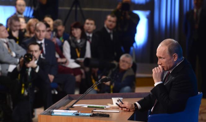 Vladimir Poutine, le 19 décembre à Moscou.