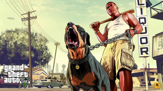 Image extraite du jeu vidéo Grand Theft Auto V.