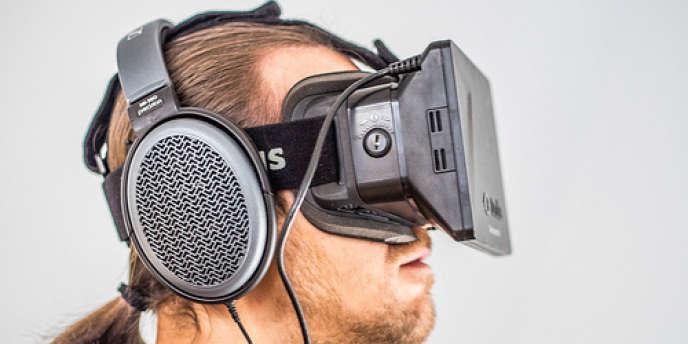Le prototype de casque de réalité virtuelle développé par Oculus VR est pour le moment destiné aux jeux vidéo.
