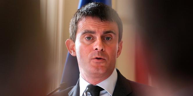 Manuel Valls, le 17 décembre à Reims.