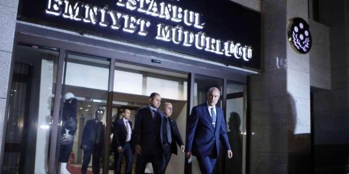 L'ancien chef de la police d'Istanbul, Hüseyin Capkin, limogé jeudi 19 décembre.