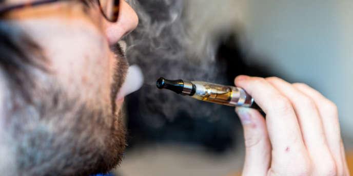 Cigarette électronique.