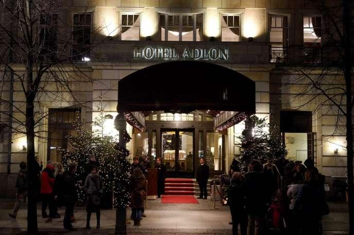 Le palace berlinois où l'ancien opposant russe Mikhaïl Khodorkovski a passé sa première nuit de liberté, le 20 décembre.
