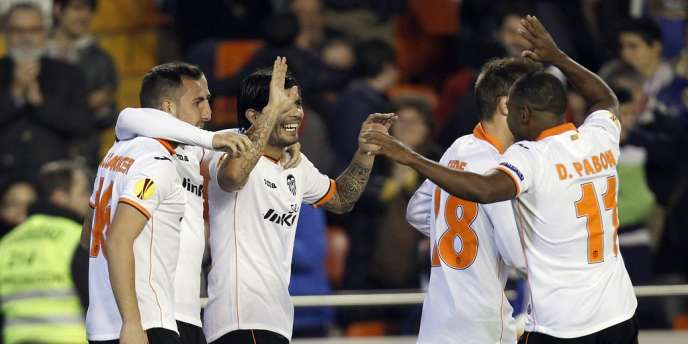 Les joueurs du FC Valence.