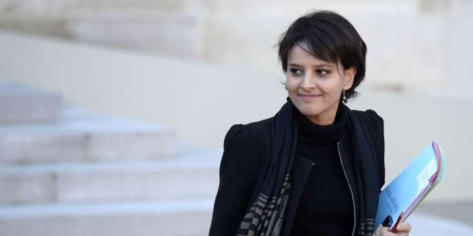 Najat Vallaud-Belkacem, ministre des droits de femmes et porte-parole du gouvernement, le 11 décembre.