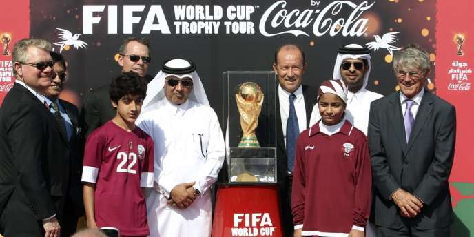 Le 12 décembre 2013, le Qatar a reçu la visite du trophée de la Coupe du monde.