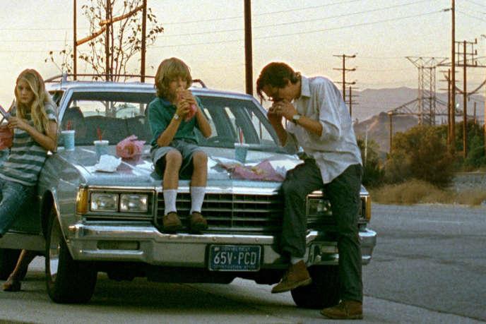 Ryan Simpkins, Ty Simpkins et John Hawkes dans le film américain d'Olivia Silver,