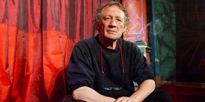 Attilio Maggiuli, en mai 2013, dans son théâtre parisien de la Comédie italienne, situé rue de la Gaîté, dans le 14e arrondissement.