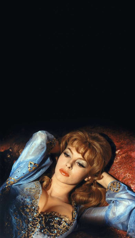 Michèle Mercier, l'inoubliable marquise des Anges (ici, dans