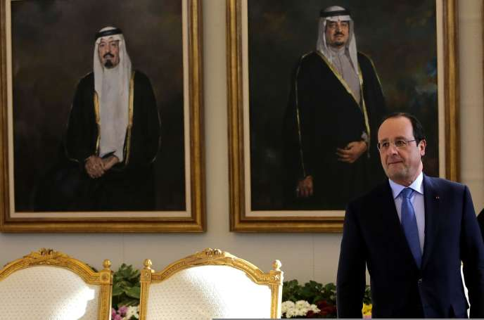François Hollande, le 29 décembre à Riyad.