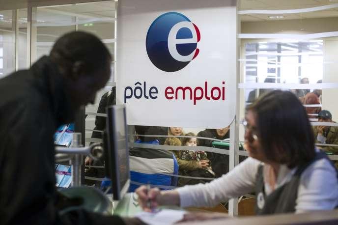 L'agence Pôle emploi de Pantin, en Seine-Saint-Denis.