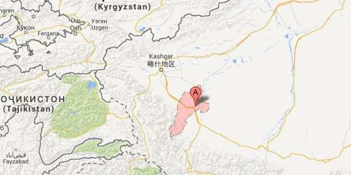 L'incident s'est produit dans le comté de Yarkand, près de Kashgar, l'une des villes étapes de la route de la Soie dans le sud du Xinjiang.